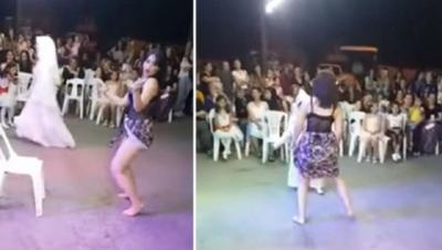 Twerk yapan dansöz gözaltına alındı
