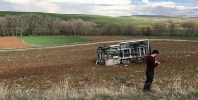 Yozgat'ta trafik kazası